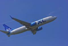 737 dróg oddechowych 800 Boeing xi Zdjęcia Stock