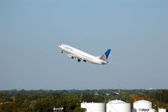 737 flygbolag kontinentala boeing Arkivbild