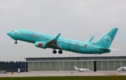 737 flygbolagboeing sunexpress Royaltyfria Foton