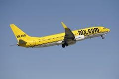 737 flygplan boeing Fotografering för Bildbyråer