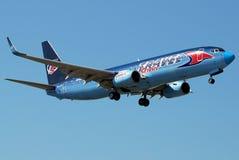 737 usługowa podróż Obraz Royalty Free