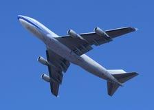 747起飞 库存照片