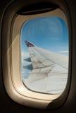 747 boeing vinge Arkivfoto