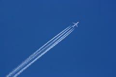 747 in einer Luft Stockfoto