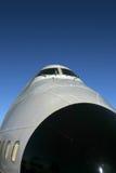 747 Exterior Stock Photo