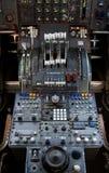 747 styrning Royaltyfri Fotografi
