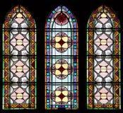 75 окно запятнанное стеклами Стоковое Фото