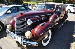 75 1940 cadillac konvertibla sedanserie Arkivbild