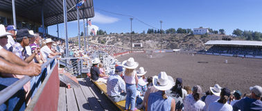 75. Ellensburg Rodeo, Werktag Lizenzfreies Stockfoto
