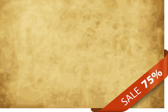 75% sale background. A background design with a 75% sale Stock Photos