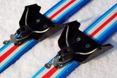 75 wiążący klasyczny mm narciarski system Obraz Royalty Free
