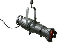 750 Watt Ellipsoidal Theatrical Light Fixture Stock Photography