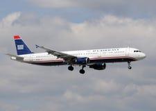 757条空中航线波音喷气机乘客我们 免版税库存照片