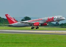 757 boeing com jet2 Arkivbilder