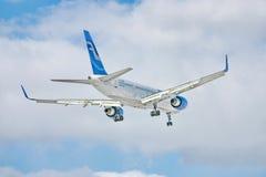 757 boeing finnair Arkivfoto