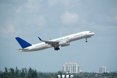757 boeing flygstråle Arkivfoton