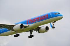 757 boeing thomson Fotografering för Bildbyråer