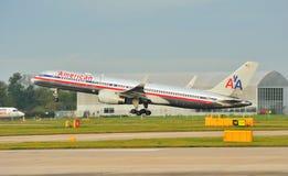 757 linii lotniczych amerykanin Boeing Zdjęcie Stock
