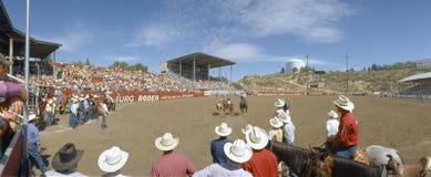75ste Rodeo Ellensburg stock foto