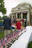 76 cidadãos americanos novos Foto de Stock Royalty Free