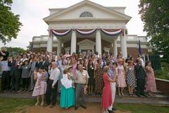 76 citoyens américains neufs Photo libre de droits