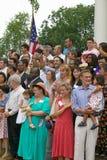 76 nuovi cittadini americani Immagini Stock Libere da Diritti