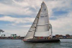 76 yacht för Amerika gruppkopp s USA Arkivfoton