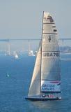 76 yacht för Amerika kopp s USA Royaltyfri Fotografi