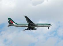 767波音喷气机乘客 库存照片