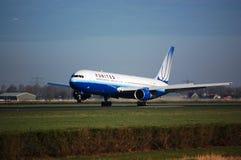 767 flygbolag förenade boeing Royaltyfria Bilder