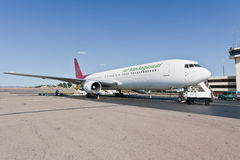 767 luft boeing madagascar Fotografering för Bildbyråer