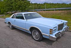 77 mod. Ford LTD Landau for Sale Royalty Free Stock Images