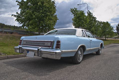 77 mod. Ford LTD Landau for Sale Royalty Free Stock Photo