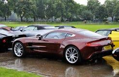 77 oknówka Aston jeden Zdjęcie Royalty Free