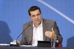77 tif亚历克西斯Tsipras 图库摄影