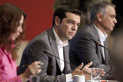 77 tif Alexis Tsipras Royalty Free Stock Photo
