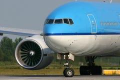 777 boeing Arkivbild