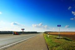 777 quilômetros Foto de Stock
