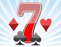 777. Winning in slot machine. 777. Winning in slot machine illustration design Stock Photo