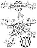 78 garneringar detailed infall vektor illustrationer