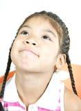78 mała słodka dziewczynka Obraz Royalty Free