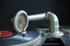 78 rpm record player Royalty Free Stock Image