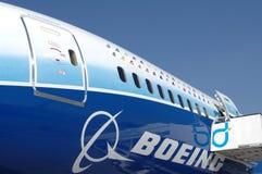 787波音dreamliner 图库摄影