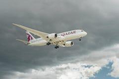 787 boeing dreamliner Royaltyfri Fotografi