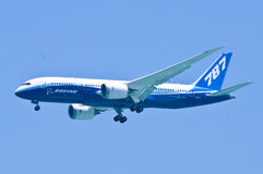 787 Dreamliner Foto de Stock Royalty Free