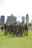 78th Celebrações malaias 2011 do aniversário do exército Foto de Stock Royalty Free
