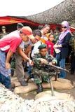 78th Celebrações malaias 2011 do aniversário do exército Imagem de Stock