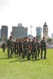 78th Malaysian Army Anniversary Celebrations 2011 Royalty Free Stock Photo