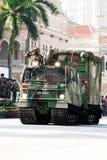 78th Malaysian Army Anniversary Celebrations 2011. KUALA LUMPUR, MALAYSIA-MAR 5:Armoured vehicle Bandvagn 206 were showcase at the 78th Army Anniversary Royalty Free Stock Images