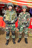 78th Malaysian Army Anniversary Celebrations 2011. KUALA LUMPUR, MALAYSIA-MAR 5:Unidentified soldiers from the Communication Regiment at the 78th Army Stock Photos